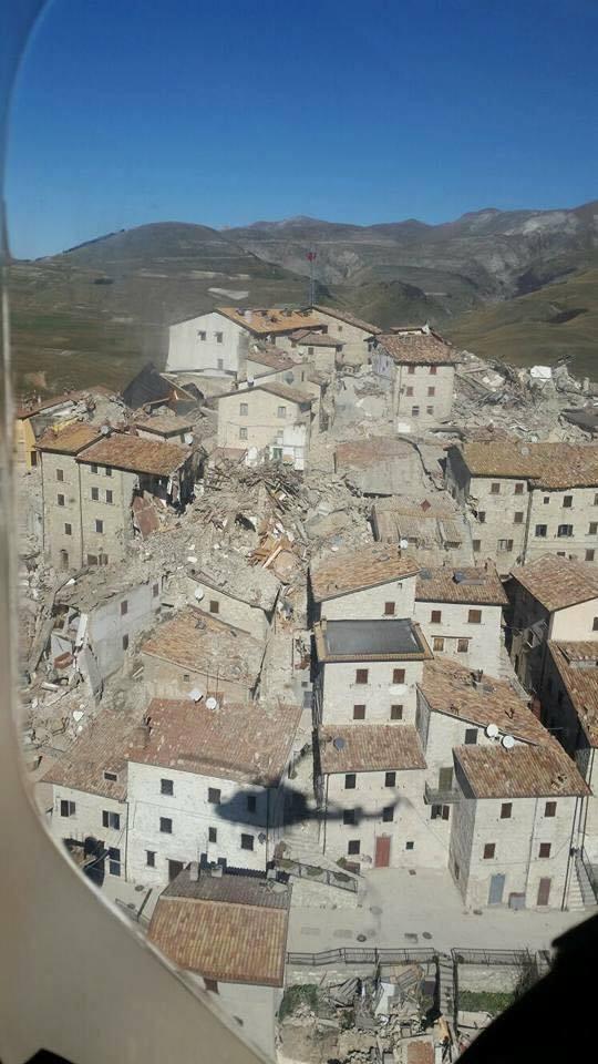 sisma 30 ottobre 2016 italia