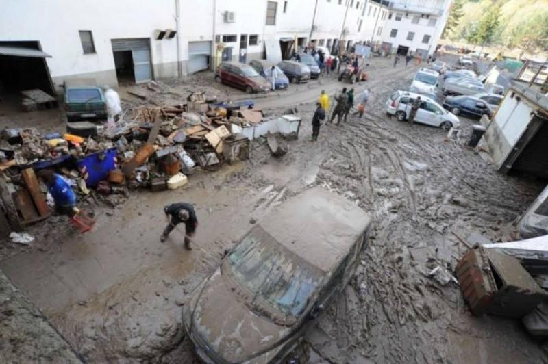 25 Ottobre 2011 l'Alluvione dello Spezzino e della Lunigiana