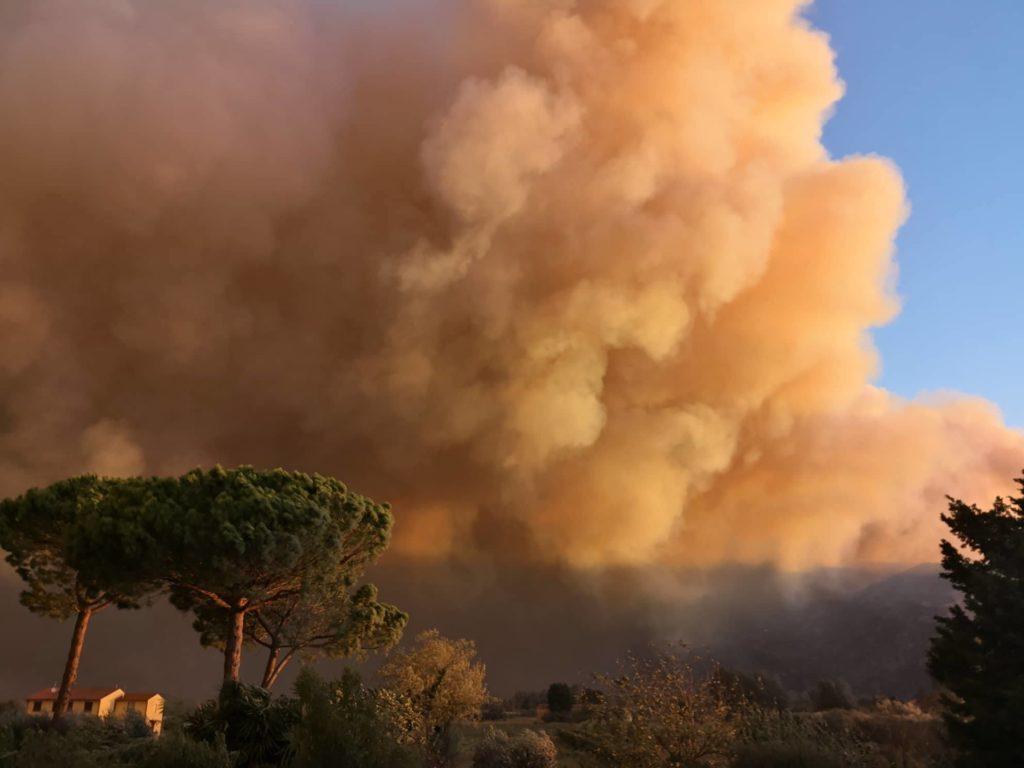Incendio Monti Pisani