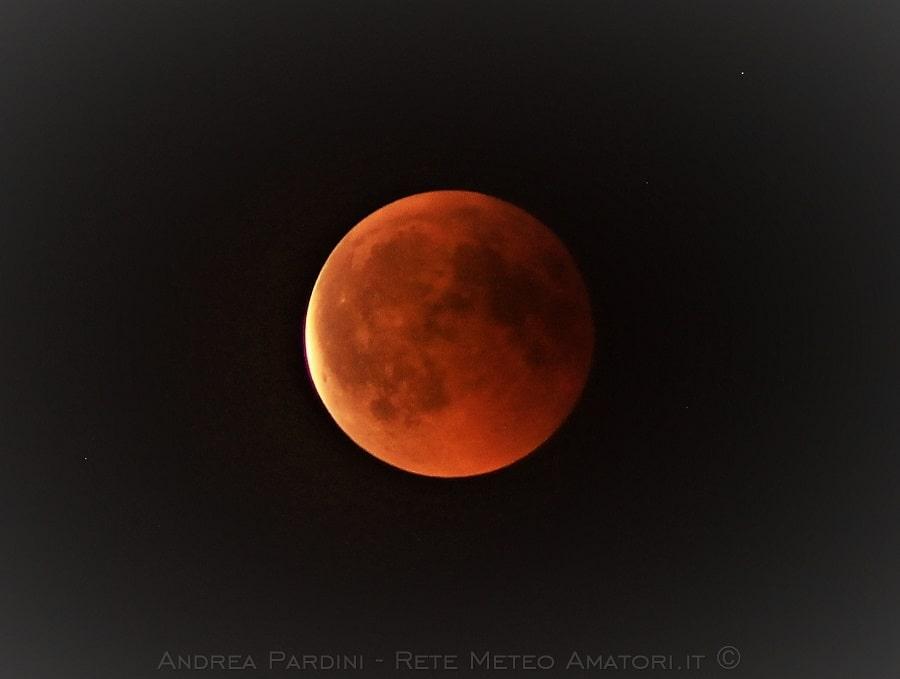 Eclissi Totale di Luna 21 Gennaio 2019
