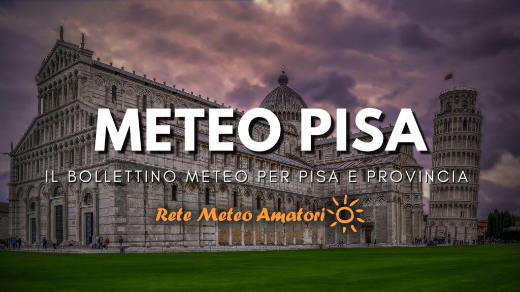 Meteo Pisa - RMA Rete Meteo Amatori