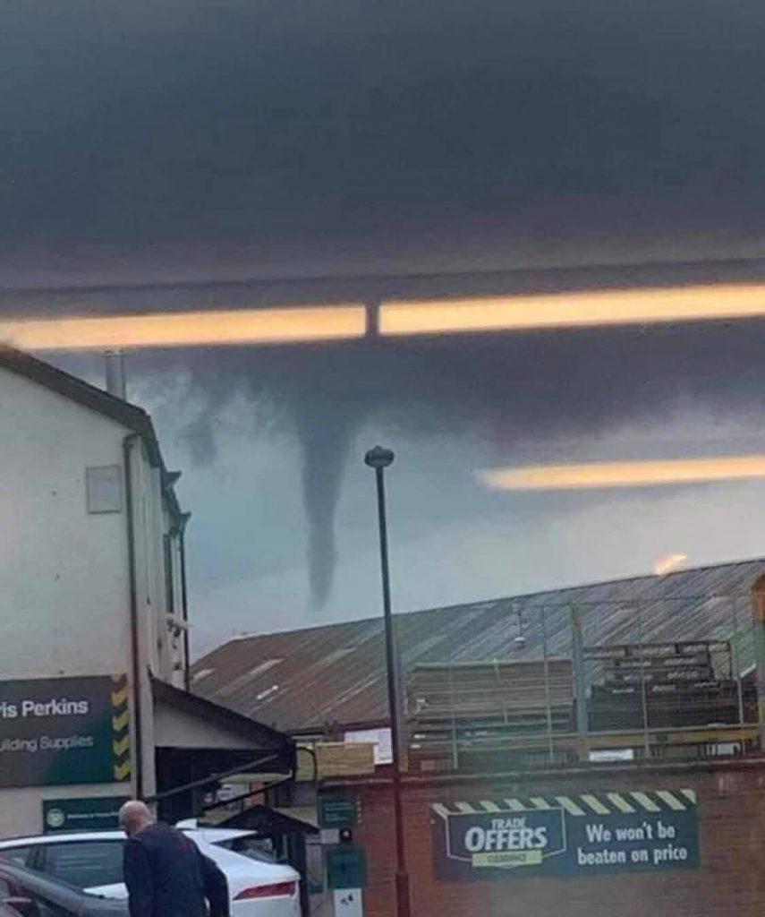 Tornado su Londra 25 Giugno 2021