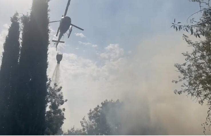 Incendio ad Asciano Siena 28 Luglio 2021