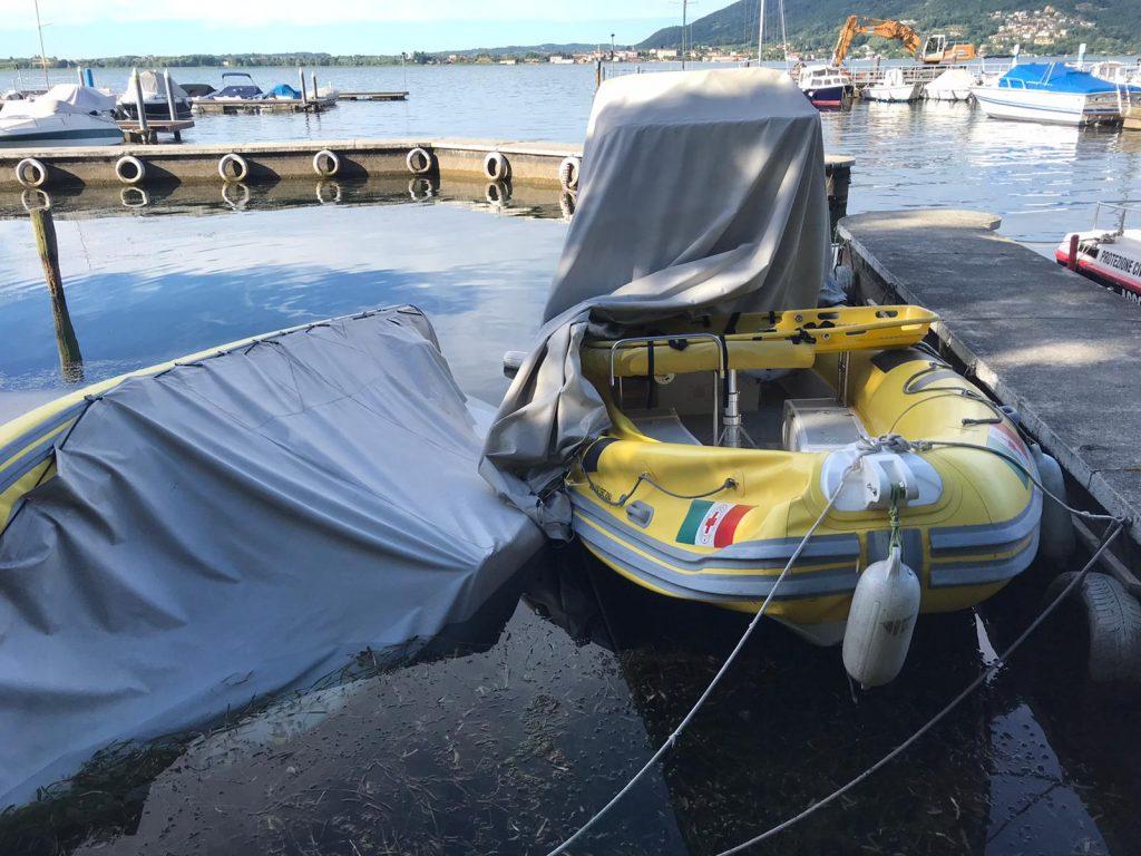 Vandalizzate due idroambulanze sul Lago d'Iseo