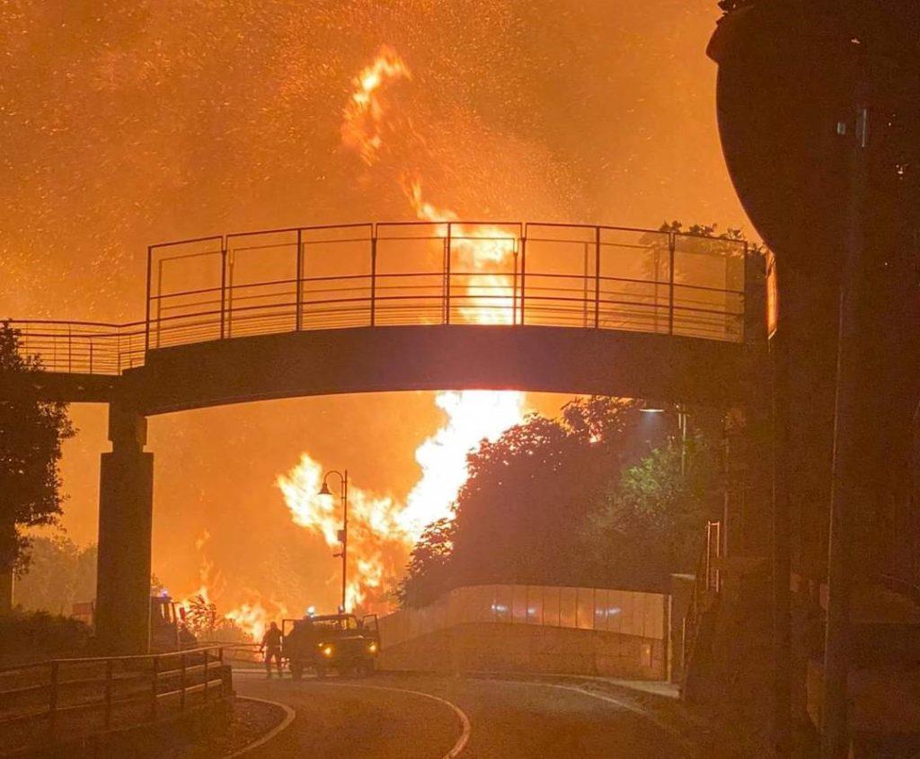 Sardegna ancora a fuoco - 26 Luglio 2021