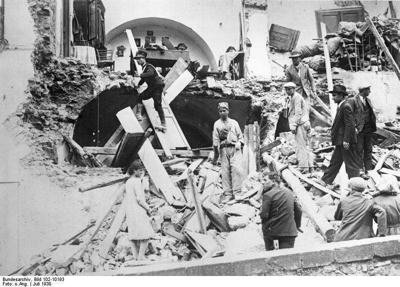 Il Terremoto del Vulture del 23 Luglio 1930