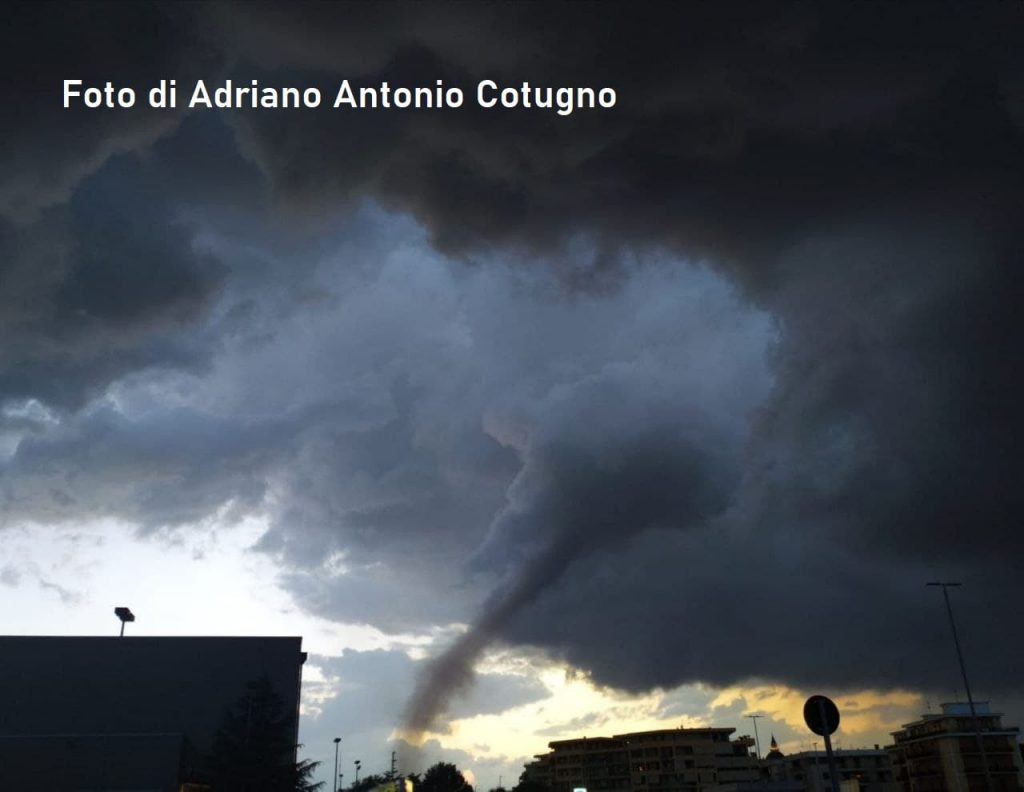 Tornado a Cerignola 16 Luglio 2021