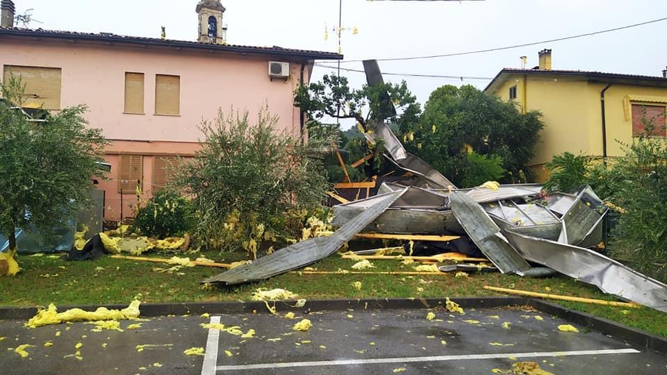 Veneto forti raffiche lineari, diversi i danni - 27 Luglio 2021