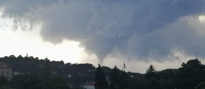 Tornado a nell'Istria occidentale 1 Agosto 2021