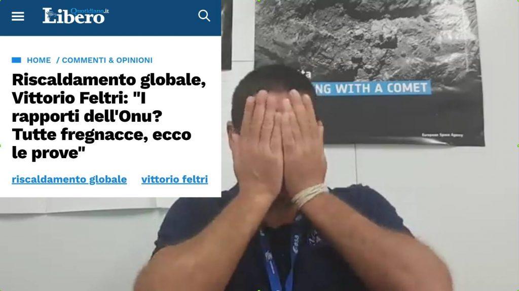 Vittorio Feltri: I rapporti ONU? Tutte Fregnacce