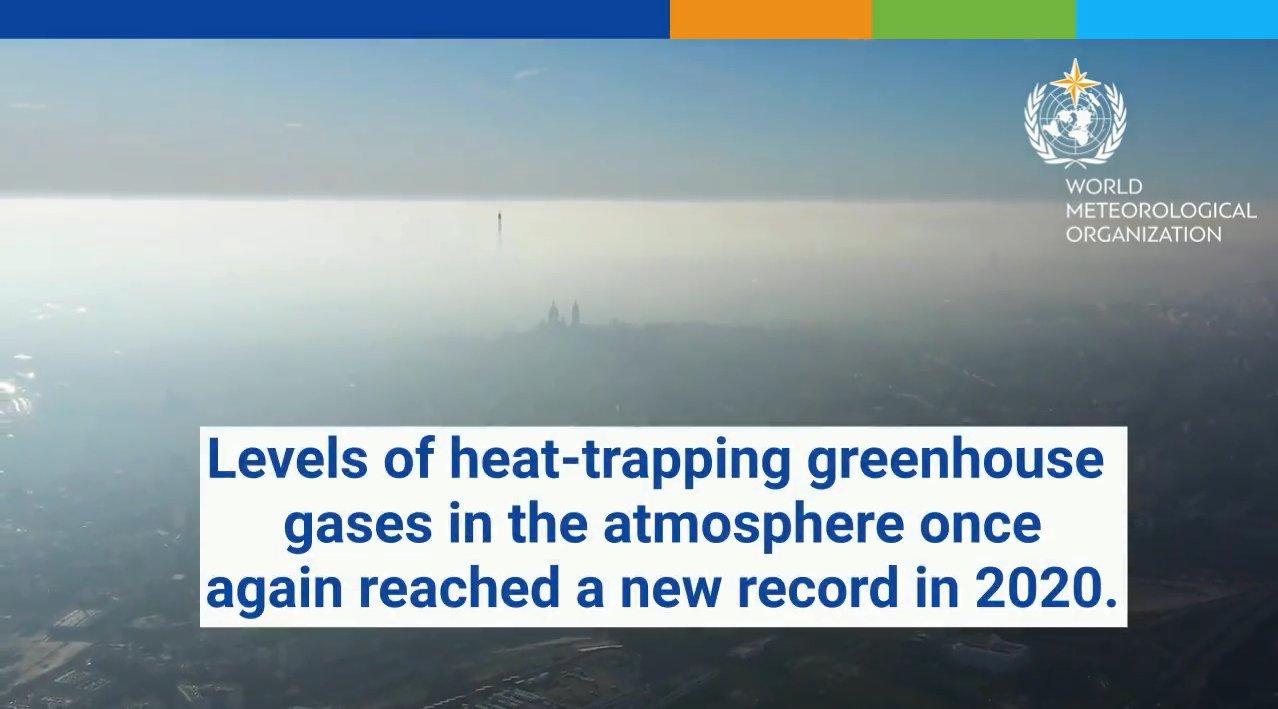 Nuovo Record di Gas Serra in Atmosfera