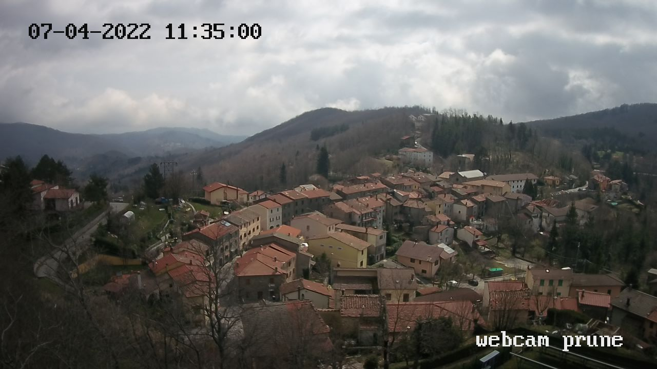 Webcam Prunetta a cura di prolocoprunetta.info